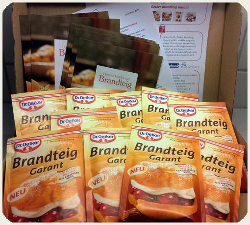 Brandteig, Backmischung, Konsumgöttinen