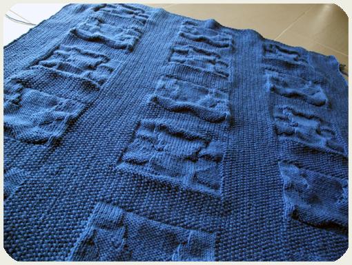 babydecke thecookingknitter. Black Bedroom Furniture Sets. Home Design Ideas