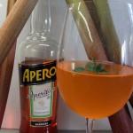 Mein Sommerdrink 2013: Aperol-Rhabarber-Spritzz