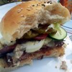 Burger mit eigenen Buns und Patties