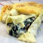 Cannelloni mit Spinat-Ricotta