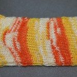 Gestrickte Roman Rip - Socken