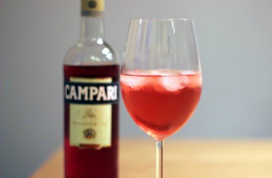 Aperitif mit Campari