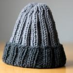 Gestrickte Mütze