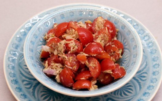 Tomaten-Thunfischsalat