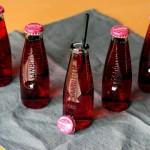 Sanbitter mit Soda und Holunderblütensirup