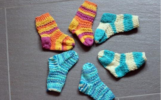 Resteverwertung für Sockenwolle
