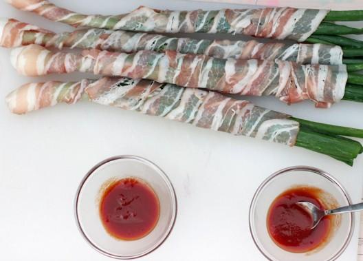 Lauchzwiebeln vom Grill von thecookingknitter.com