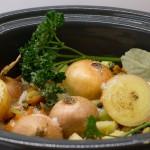 Gemüsefond aus dem Slowcooker