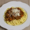 Bolognese aus dem Slowcooker / Crockpot by thecookingknitter.com