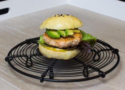 Lachsburger by thecookingknitter.com