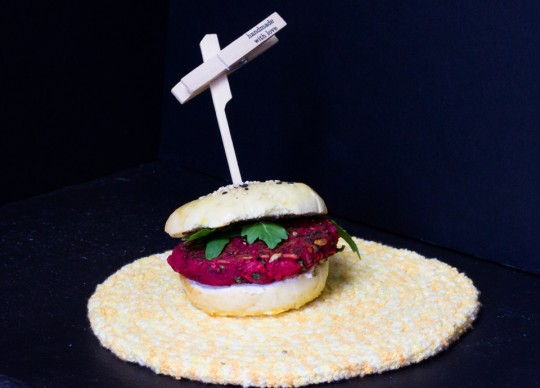 Burger mit Rote-Bete - Pattie by thecookingknitter.com