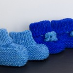 Gestrickte Babyschuhe by thecookingknitter.com