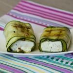 Schafskäse in Zucchini vom Grill bythecookingknitter.com