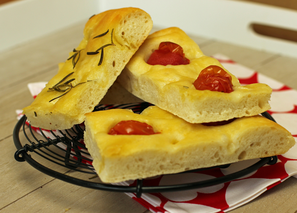 Focaccia aus Ligurien by thecookingknitter.com