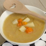Kartoffelsuppe aus dem Slowcooker by thecookingknitter.com