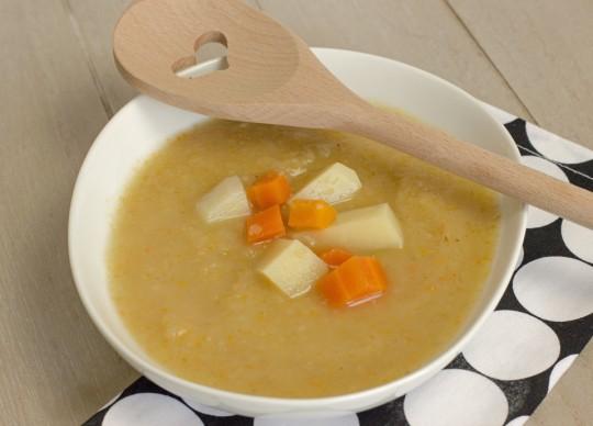 Kartoffelsuppe aus dem Slowcooker by thecookingknitter.com
