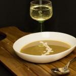 Maronensuppe mit Weißwein