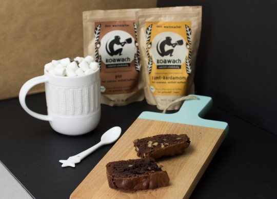 Schokoladiger Brownie - Rezept by thecookingknitter.com