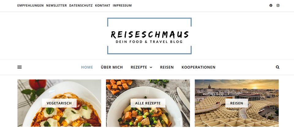 Reiseschmaus - Screenshot