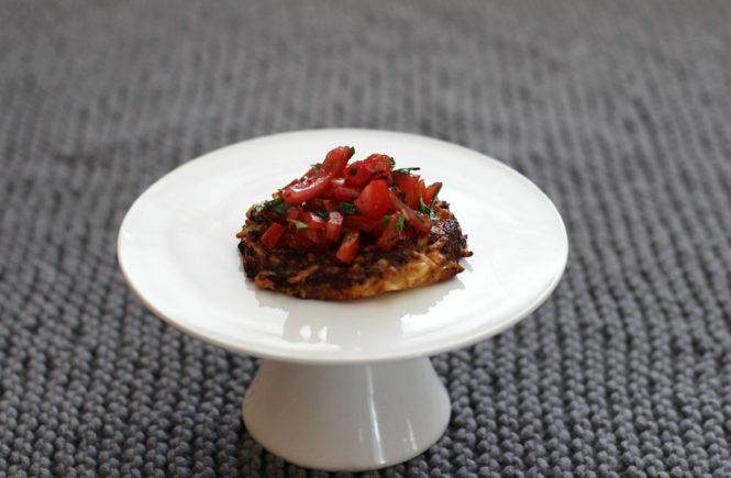 Leckeres Rezept für Blumenkohltaler mit Tomaten